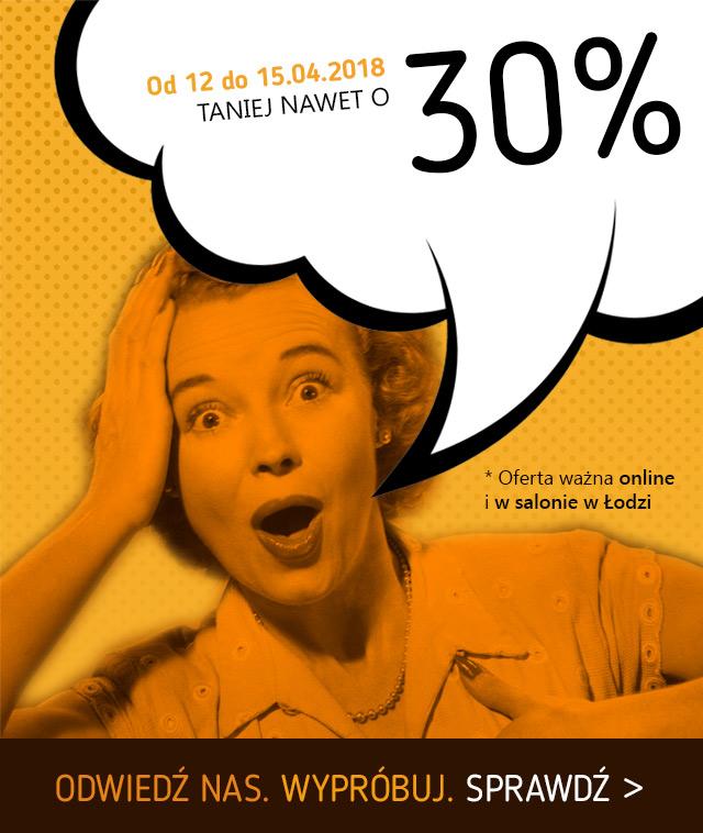 Teraz taniej aż do 30%! / sprawdź to >