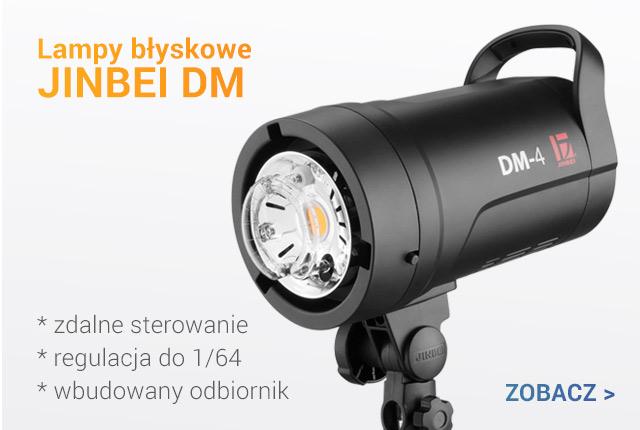 Lampy błyskowe JINBEI DM / zobacz >