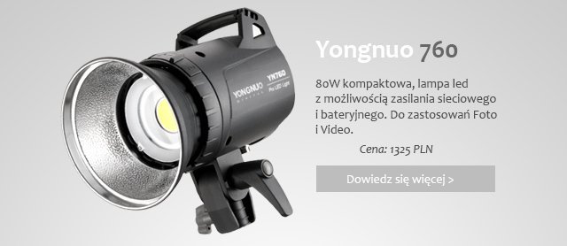 Lampa LED Yongnuo 760