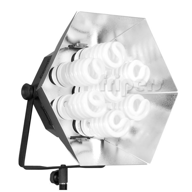 Lampa światła Ciągłego 7x65w Freepower Temperatura Barwowa 5400k