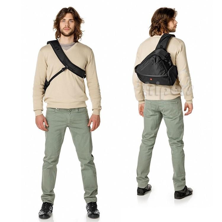 69ca2507d625a Plecak fotograficzny na jedno ramię Manfrotto Sling 2 szybki dostęp