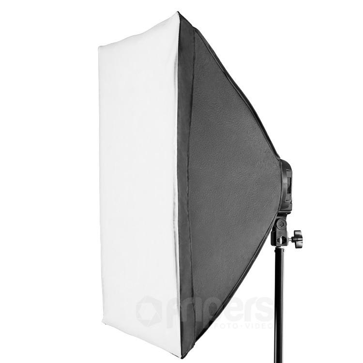 Lampa światła ciągłego 4 x E27 FreePower z softboxem 50x70