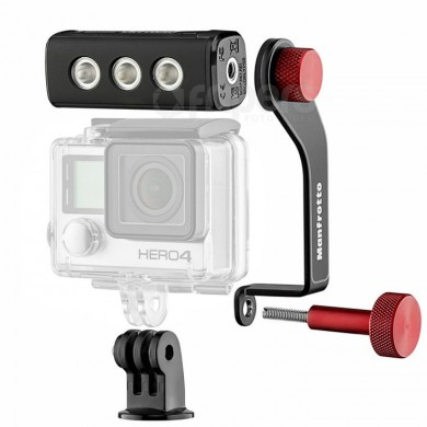 Lampa LED Manfrotto OFF ROAD THRIL do kamer sportowych GoPro