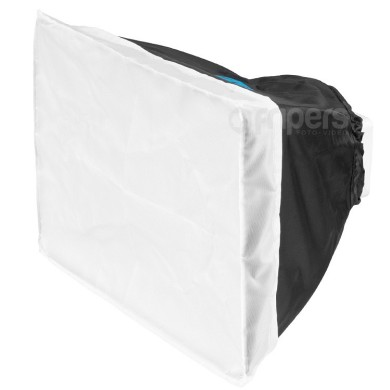Softbox do lamp reporterskich FreePower 20 x 30 cm (srebrny)