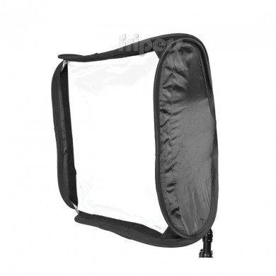 Softbox do lamp reporterskich FreePower SREP 60 x 60 cm (z gridem)