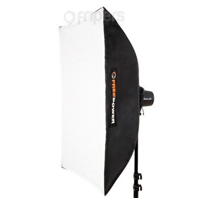 Softbox UNI FreePower 80x100m do lamp z mocowaniem 10.5 - 16cm