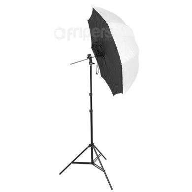 Zestaw reporterski FreePower Soft P (statyw, parasloka-softbox)