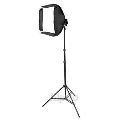 Zestaw Reporterski FreePower Soft 40 (softbox, grid ,statyw)